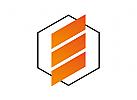 Zeichen, Signet, Logo, Abstrakt, Buchstabe, E