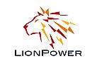 Zeichen, Signet, Logo, Löwe, Energie, Kraft