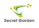 Zeichen, Signet, Logo, Natur, Blätter, Buchstabe, S