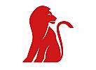 Zeichen, Signet, Logo, Löwe, Investment, Stärke