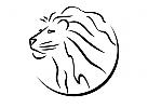 Zeichen, Signet, Logo, Löwe, Kopf