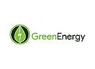 Natur Logo, Blatt Logo, Energie Logo