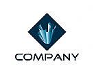 Logo Signet, Kristall, Papier, Geologie, abstrakte Form