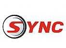 S im Kreis Logo