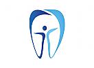 Zähne, Zahn, Zahnarztpraxis, Logo, Mensch, Patient