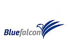 Logo Signet, Falke, Flügel, beobachten, selektieren, Finanzen