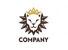 Löwe Logo, Lion King, Krone Logo