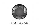 Zeichen, Signet, Logo, Blende, Fotograf, Photostudio, Abstrakt