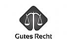 Zeichen, Signet, Logo, Waage, Rechtsanwalt