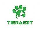 Hund Logo, Katze Logo, Tierarzt Logo