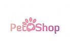 Hund Logo, Katze Logo, Tierarzt Logo, Tatze Logo, Pfote Logo