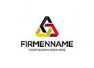 Ö Deutschland Farben Dreieck, Zeichen, Signet, Pfeil Logo