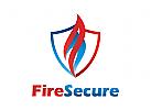 Öl Logo, Feuer Logo, Schild Logo, Gas Logo