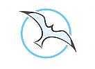 Zeichen, Signet, Logo, Möwe, Seagull