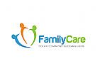 Menschen Logo, Pflege Logo, Hilfe Logo