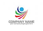 Menschen Logo, Kindern Logo