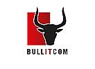 Zeichen, Signet, Logo, Bulle, Stier, Torro, Horn, IT