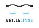 Zeichen, Signet, Logo, Optiker, Augenarzt, Brille, Kontaktlinsen