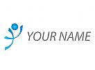 Zeichen, Skizze, Person, Bewegung, Sport, Fitness, Logo