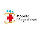 Logo, Signet, Krankenpflege, mobiler Pflegedienst, Ärzte, Sanitäter