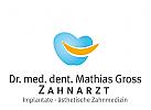 Logo, Signet, Zahnarzt, Zahnpraxis, Dentallabor, Zahn, lachender Mund
