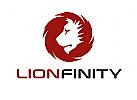 Zeichen, Signet, Logo, Löwe, Löwenkopf