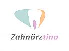 Zähne, Zahn, Zahnarztpraxis, Logo, Zahnärztin, Zahnarzt