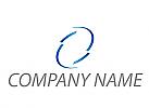 Halbkreise, Wellen, farbig Logo