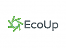 Ökologie Logo,  Umwelt Logo, Pfeil Logo