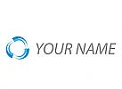 Spirale, Linien in Bewegung, Logo