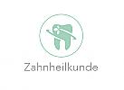 Öko, Zähne, Zahn, Zahnarztpraxis, Logo, Logo Zahnarzt, Zahnheilkunde