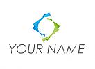 Rechtecke, Buchstabe S, Logo