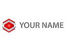 Sechsecke, Würfel, Cube Logo