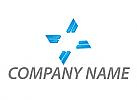 Viele Rechtecke, X Logo