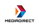 Zeichen, Signet, Logo, Pfeil, Media, Film, TV, Radio, Fotografie, Logistik, Abstrakt