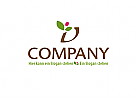 lebensmittel logo, pflanze logo, gärtnerrei logo, blüten logo, umwelt logo