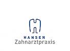 Zeichen, Zahn mit dem Initial H, Zahnarzt, Dentallabor