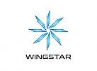 Zeichen, Signet, Skizze, Logo, Stern, Flügel, Wings, Star