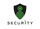 Zeichen, Signet, Logo, Mensch, Schild, Security, Sicherheit, Personenschutz