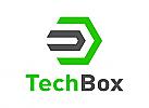 Technologie Logo, Medien Logo