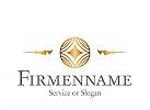 Logo, Signet, Zeichen, Luxushotel, Service, Dienstleistung