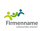 Logo, Signet, Zeichen, Dreiergruppe, Consulting, Coaching