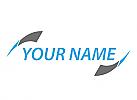 Zwei Pfeile, Bewegung, Logo