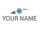 Öko, Zeichen, Symbol, Skizze, Pfeil, Auge, Videoüberwachung, Logo