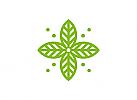 Zeichen, Signet, Logo, Abstrakt, Blatt, Natur, Blume, Floristik, Ornament