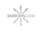 Zeichen, Signet, Logo, drei Pfeile, Silber