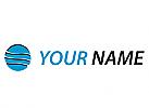Öko, Zeichen, Symbol, Skizze, Kreis, Wellen, Dienstleistungen, Logo