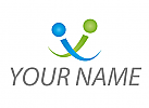Zwei Personen, Buchstabe I, Info, Logo