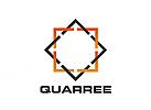 Zeichen, Signet, Symbol, Logo, Quadrat, Winkel