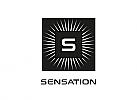 Zeichen, Signet, Symbol, Logo, Quadrat, Strahlen, Stern